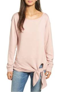 Tie Front Pullover