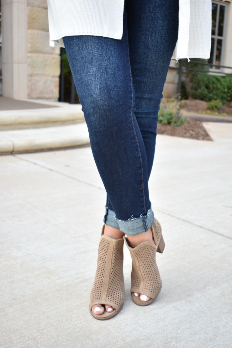 Dark Jeans and Booties