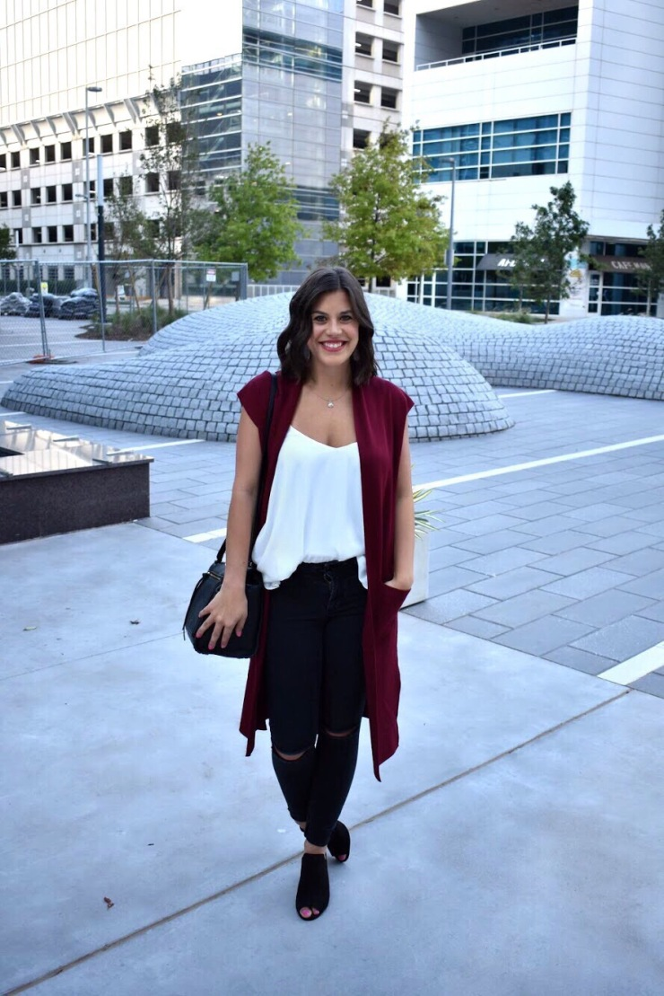 Fall colors and trends - Red Vest