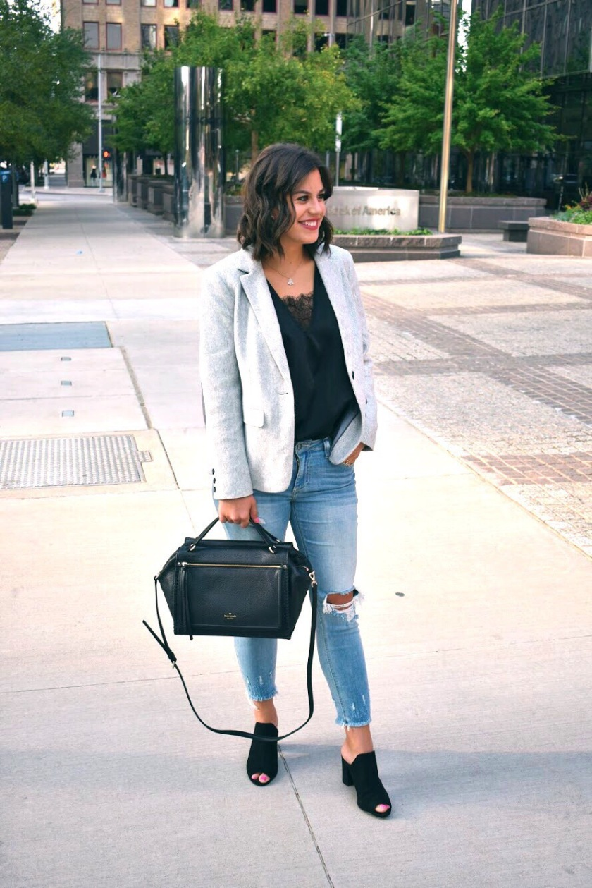 Blazers for a casual weekend look