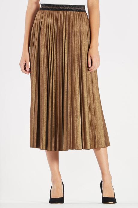 matalic skirt